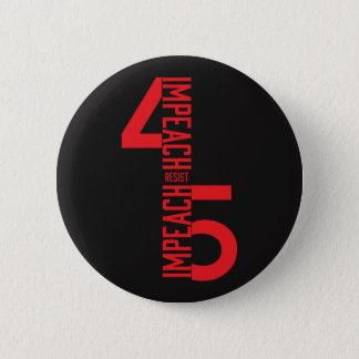 BADGE ROND 5 CM ATTAQUEZ #45 RÉSISTENT