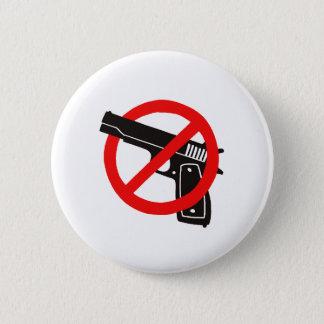 Badge Rond 5 Cm Aucun bouton d'armes à feu
