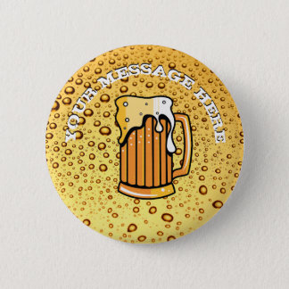 Badge Rond 5 Cm Baisses d'or