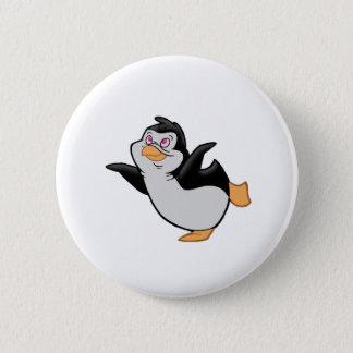 Badge Rond 5 Cm Ballet de pingouin