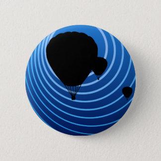 Badge Rond 5 Cm ballons à air chauds d'alcool illégal