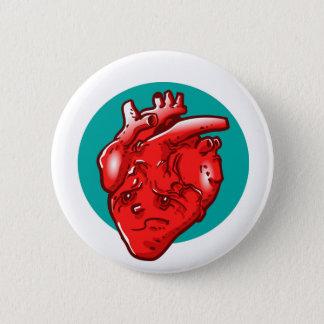 Badge Rond 5 Cm bande dessinée triste et du coeur brisé