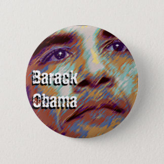 Badge Rond 5 Cm Barack Obama
