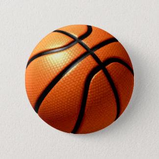 Badge Rond 5 Cm Basket-ball