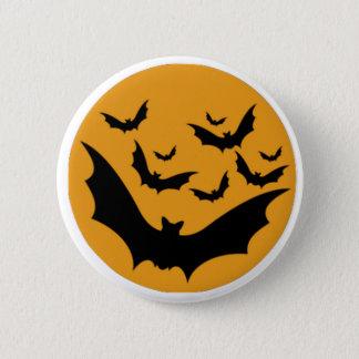 Badge Rond 5 Cm Battes de Halloween