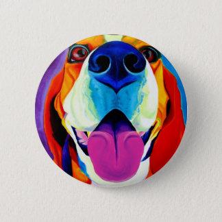 Badge Rond 5 Cm Beagle #3