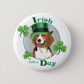 Badge Rond 5 Cm Beagle du jour de St Patrick