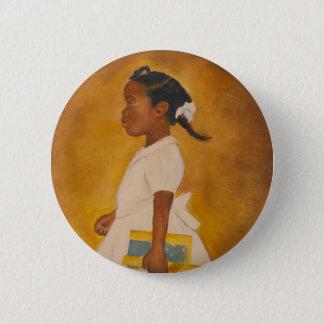 Badge Rond 5 Cm Beaux-arts d'Afro-américain