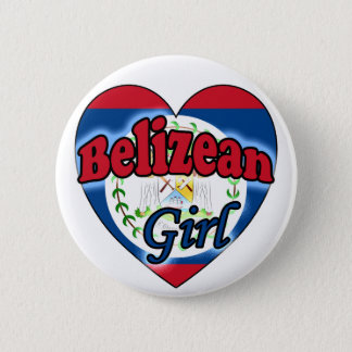 Badge Rond 5 Cm Belizean Girl