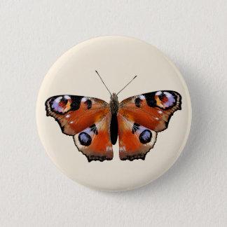 Badge Rond 5 Cm Belle conception avec le papillon