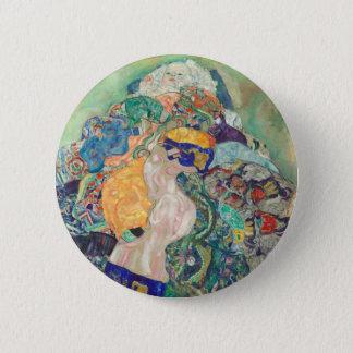 Badge Rond 5 Cm Berceau de bébé de Gustav Klimt