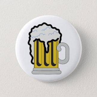 Badge Rond 5 Cm Bière