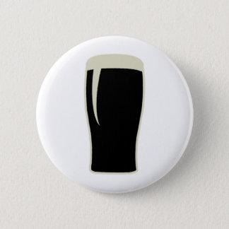 Badge Rond 5 Cm Bière de malt d'o de pinte
