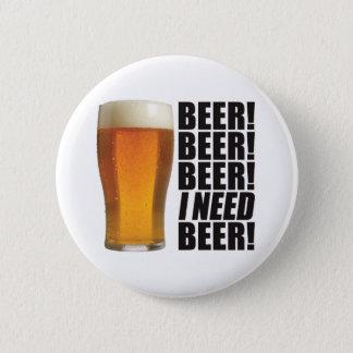 Badge Rond 5 Cm Bière du besoin