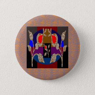 Badge Rond 5 Cm Bijoux gravés par argent de l'or n de