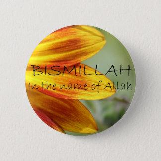 Badge Rond 5 Cm Bismillah