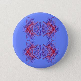 Badge Rond 5 Cm Bleu Eco d'éléments de conception