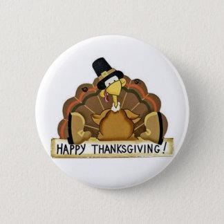 Badge Rond 5 Cm Bon thanksgiving Turquie