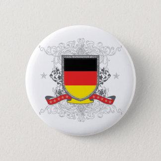 Badge Rond 5 Cm Bouclier de l'Allemagne