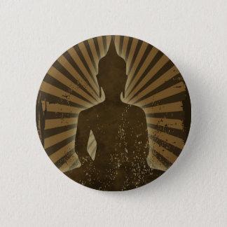 Badge Rond 5 Cm Bouddha