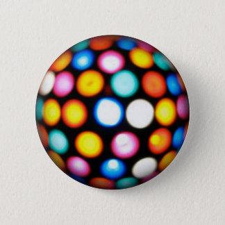Badge Rond 5 Cm Boule de disco