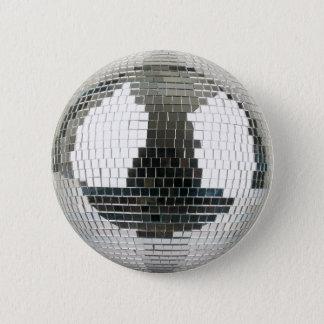 Badge Rond 5 Cm Boule de disco de Mirrorball