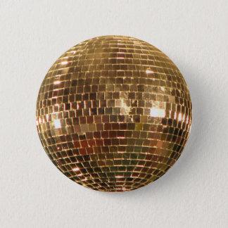 Badge Rond 5 Cm Boule reflétée 2 de disco