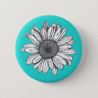 Badge Rond 5 Cm Bouton arrière de Pin de fleur