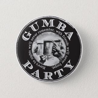 Badge Rond 5 Cm Bouton arrière de Pin de partie de Gumba avec le