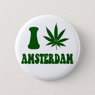 Badge Rond 5 Cm Bouton d'Amsterdam