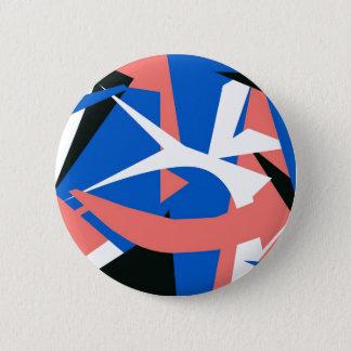 Badge Rond 5 Cm Bouton d'art moderne