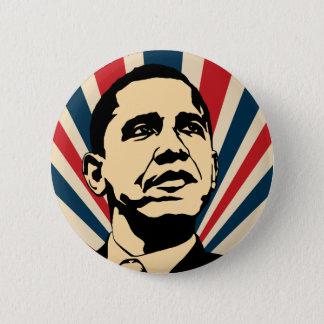 Badge Rond 5 Cm Bouton de Barack Obama