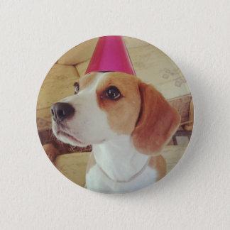 Badge Rond 5 Cm Bouton de beagle