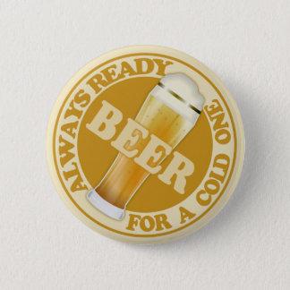 Badge Rond 5 Cm Bouton de BIÈRE