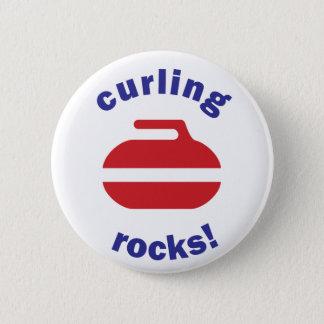Badge Rond 5 Cm Bouton de bordage de roches