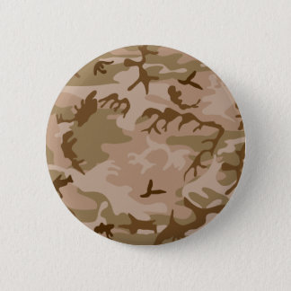 Badge Rond 5 Cm Bouton de camouflage de sable de désert