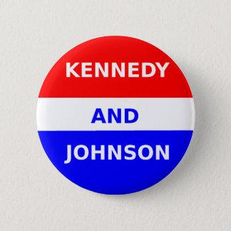 Badge Rond 5 Cm Bouton de campagne de JFK 1960