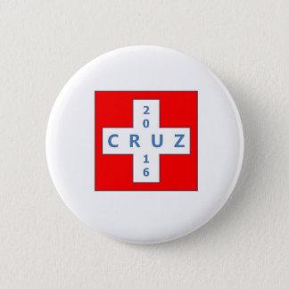 Badge Rond 5 Cm Bouton de campagne présidentielle de Ted Cruz 2016