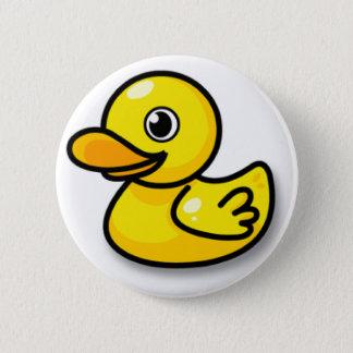 Badge Rond 5 Cm Bouton de canard