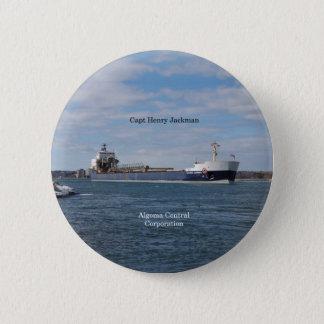 Badge Rond 5 Cm Bouton de capitaine Henry Jackman