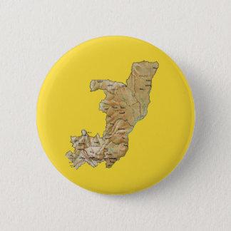 Badge Rond 5 Cm Bouton de carte de Congo-Brazzaville
