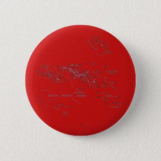 Badge Rond 5 Cm Bouton de carte de Polynésie française