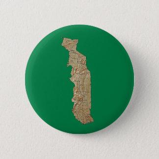 Badge Rond 5 Cm Bouton de carte du Togo