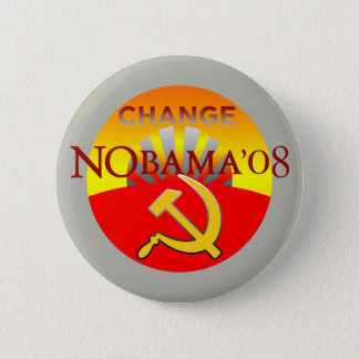 Badge Rond 5 Cm Bouton de CHANGEMENT de NOBAMA 08