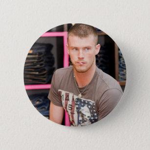 Badge Rond 5 Cm Bouton de David Henry