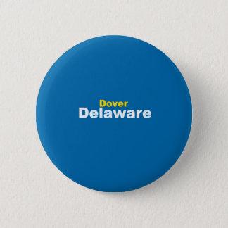 Badge Rond 5 Cm Bouton de Douvres, Delaware