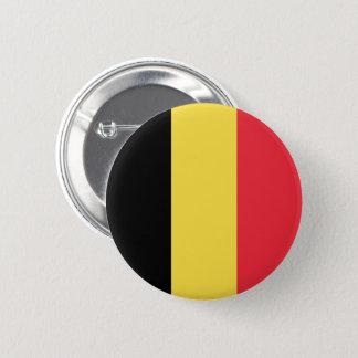 Badge Rond 5 Cm Bouton de drapeau de la Belgique