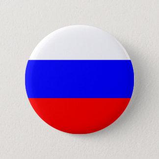 Badge Rond 5 Cm Bouton de drapeau de la Russie