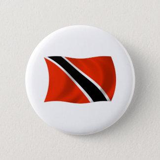 Badge Rond 5 Cm Bouton de drapeau du Trinidad-et-Tobago