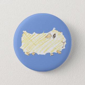Badge Rond 5 Cm Bouton de fille de Guinée